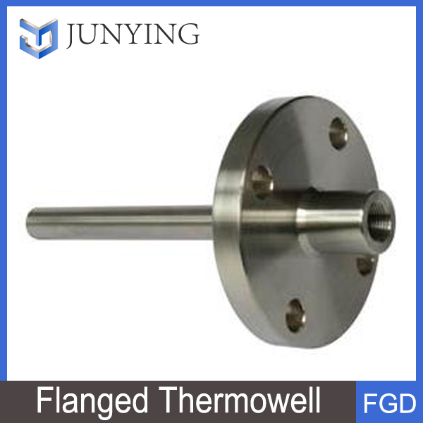 Pressure gauge thermometer thermowell